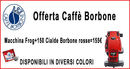 Promozione Caffè Borbone con spedizione omaggio e pagamento alla consegna