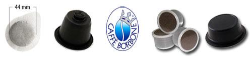 Cialde di caffè Borbone, spedizione omaggio e pagamento alla consegna